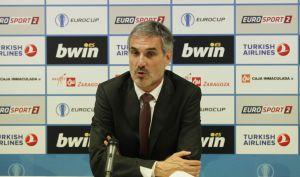 """José Luis Abós: """" Ha sido un partido muy raro, especialmente al final"""""""