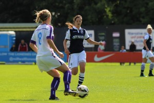 Leanne Cowan on setting an example for her young team