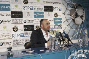 """Josu Uribe: """"Las victorias son de los futbolistas y las derrotas de los entrenadores"""""""