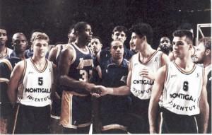 Se cumplen 25 años del partido contra los Lakers