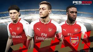 Arsenal announce official partnership with Konami