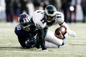 Philadelphia Eagles drop a third division game in close loss to New York Giants
