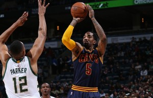 J.R. Smith's Seven Three-Pointers Leads Cleveland Cavaliers To Win Over Milwaukee Bucks