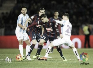 Amonestados del SD Eibar - Málaga CF