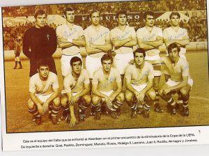 Momentos Celta - Getafe: el 'falso nueve' de los setenta