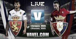 Real Zaragoza - Osasuna en directo online