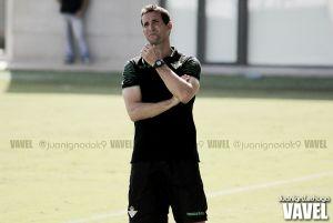Juan Merino: ''Ser el entrenador del Real Betis es la ilusión más grande de mi vida''
