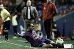 """Juanfran: """"El que juega en el Levante es porque quiere jugar"""""""