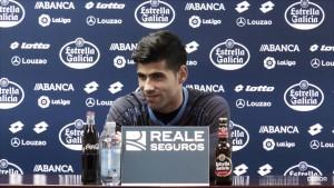 """Juanfran: """"Quiero seguir aquí, estoy feliz"""""""