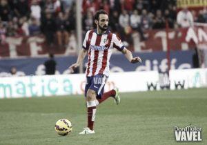 Juanfran y Godín, los más experimentados ante el Real Madrid