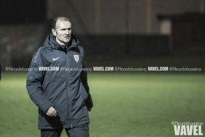 """Juan Luis Fuentes: """"Estoy muy satisfecho con el equipo y con su juego"""""""