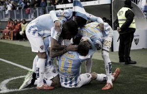 El Málaga empuja al Córdoba al borde del abismo
