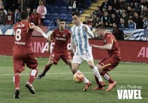 Fotos e imágenes del Málaga 3-0 Getafe, jornada 23 de la Liga BBVA
