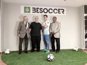 La empresa BeSoccer acompañará al Málaga las dos próximas temporadas