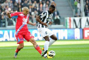 Diretta Juventus - Catania, live della partita di serie A