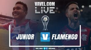 Resultado Junior Barranquilla x Flamengo na Copa Sul-Americana (0-2)