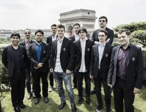 Cartel de lujo en el Paris Grand Chess Tour