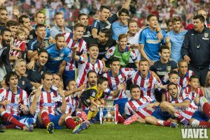 El Atlético de Madrid manda en la capital