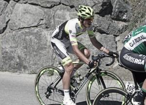 """Julen Amézqueta: """"Disputar el Giro fue una sensación única"""""""