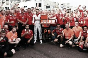 Jules Bianchi hace historia para Marussia