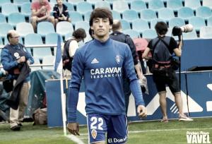Julián Delmás, el mejor frente al Sevilla Atlético según la afición