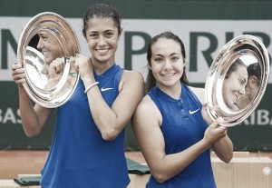 French Open: Unseeded doubles teams claim junior titles