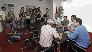 """Zabaleta: """"El acuerdo con Hacienda no es gratis, pero sí razonable para no descender"""""""