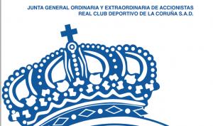 Convocada la Junta General de Accionistas del Deportivo