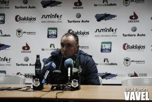 """Josu Uribe: """"Queremos brindar los tres puntos a la afición, tenemos muchas ganas"""""""