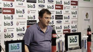 """Manolo Díaz: """"Estuvimos a la altura"""""""