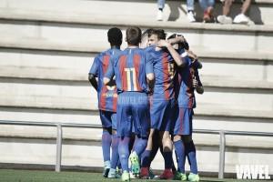 Goleada y a cuartos para el Barça juvenil