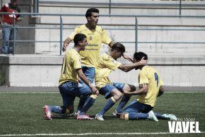 Las Palmas golpea primero en la Copa del Rey Juvenil