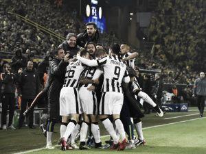 Borussia Dortmund (1) 0-3 (5) Juventus: Tevez and Morata send Bianconeri into the quarters