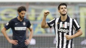 Derby d'Italia con color 'bianconero'