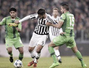 La Juve ci prova, ma i tedeschi resistono fino all'ultimo: finisce 0-0 allo Stadium