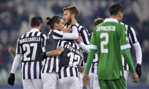 Tre gol all'Avellino, la Juve passa ai quarti