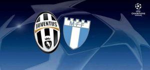 Live Juventus vs Malmo, diretta di Champions League