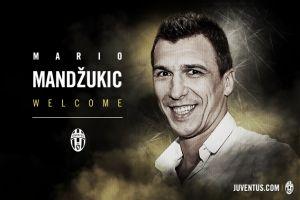 Juventus confirm Mario Mandzukic signing