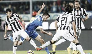 Resultado Juventus vs Empoli en la Serie A 2015 (2-0)