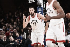 NBA, Raptors a valanga a New York. I Bulls vincono ad Atlanta
