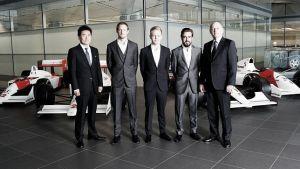 Fernando Alonso y Jenson Button: veteranos de guerra