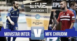 Resumen Movistar Inter 2-0 MFK Chrudim en UEFA Futsal Cup 2016