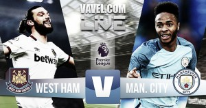 Resumen West Ham 0 vs 4 Manchester City en vivo online en Premier League 2016