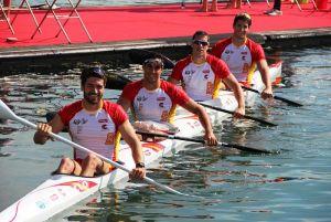El K-4 1.000 metros, segunda embarcación que participará en Río 2016