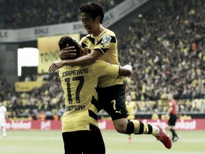 Borussia Dortmund 2-0 Eintracht Frankfurt: Two first half goals seals the victory for Dortmund