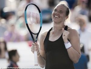 US Open: Kaia Kanepi shocks Daria Kasatkina to progress to the quarterfinals