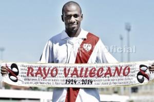 Kakuta presentado como nuevo jugador del Rayo Vallecano