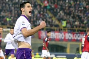 Serie A - Fiorentina di rigore, basta Kalinic: Bologna battuto a domicilio (0-1)