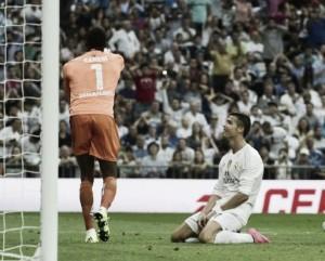 El Málaga supo frenar al Real Madrid en el Bernabéu