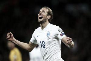 Kane marca e Inglaterra goleia Lituânia nas eliminatórias para a Uefa Euro